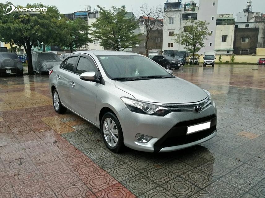 Trang bị an toàn của Toyota Vios còn nhiều nhược điểm