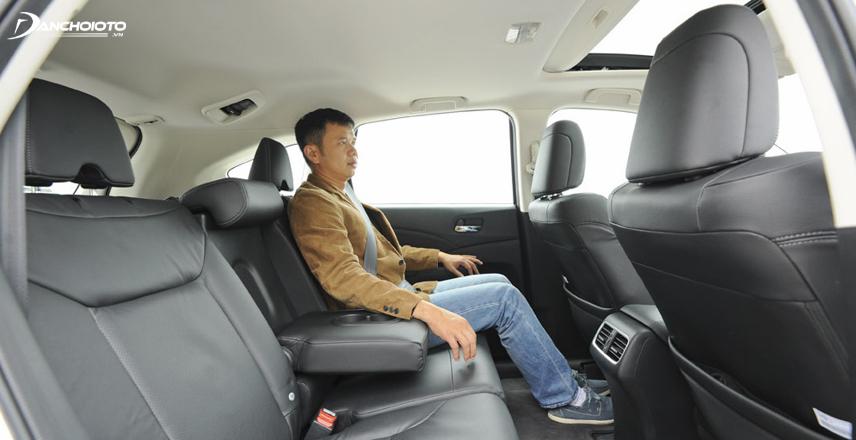 Cabin Honda CR-V thuộc hàng rộng và thoáng nhất
