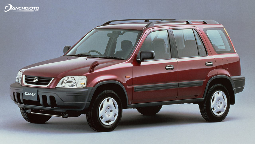 Đến năm 1995, Honda CR-V chính thức được sản xuất tại Nhật bản