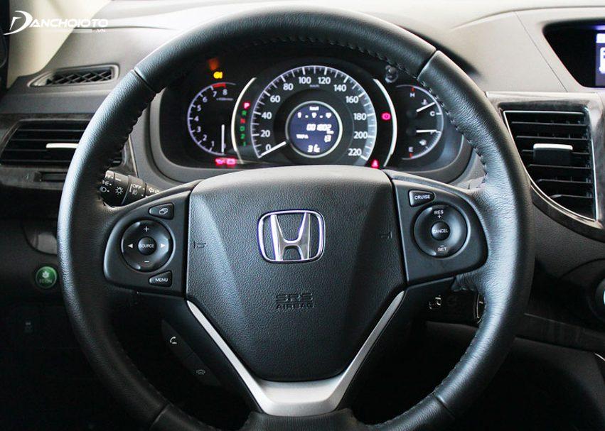 Honda CR-V được trang bị hệ thống lái trợ lực điện