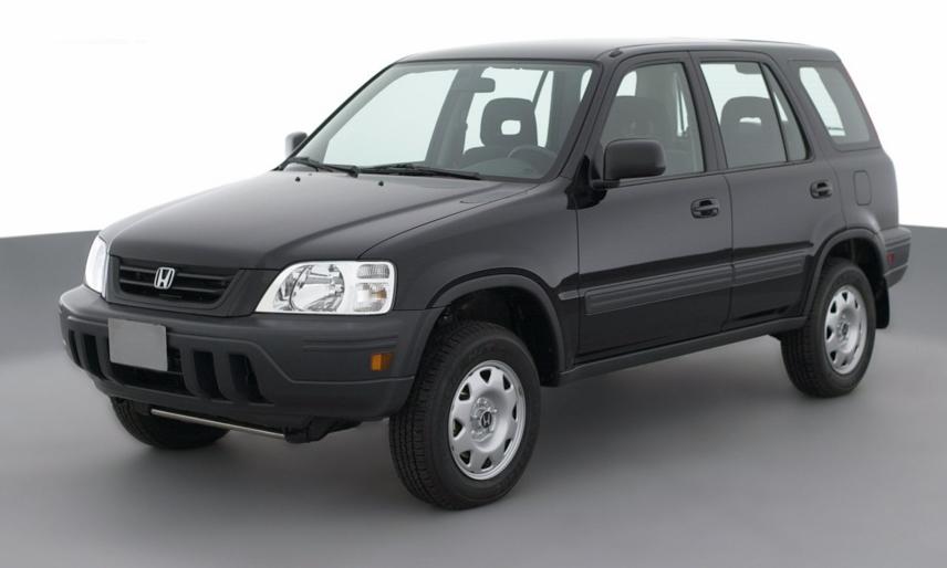 Honda CR-V thế hệ mới hoàn toàn được trình làng vào năm 2001