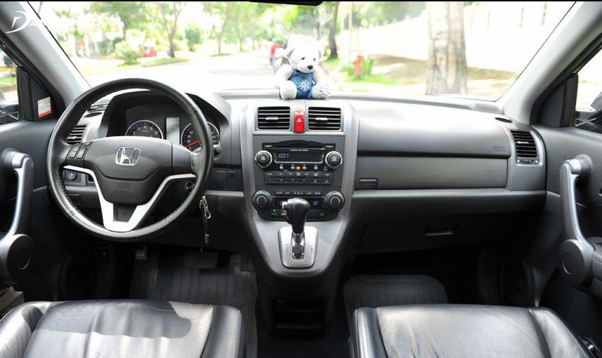 Nội thất Honda CR-V 2008 mang tính thực dụng cao