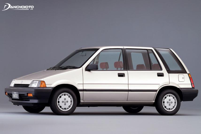 Xe Honda Civic Shuttle 4WD được xem là phiên bản tiền nhiệm của Honda CR-V sau này