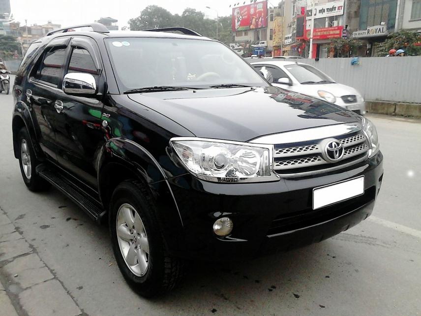 Đầu năm 2009, Toyota Fortuner mới xuất hiện tại Việt Nam dưới dạng lắp ráp trong nước