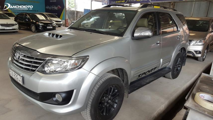 Mức lỗ Toyota Fortuner qua sử dụng trung bình chỉ ở mức 5% - 7%/năm