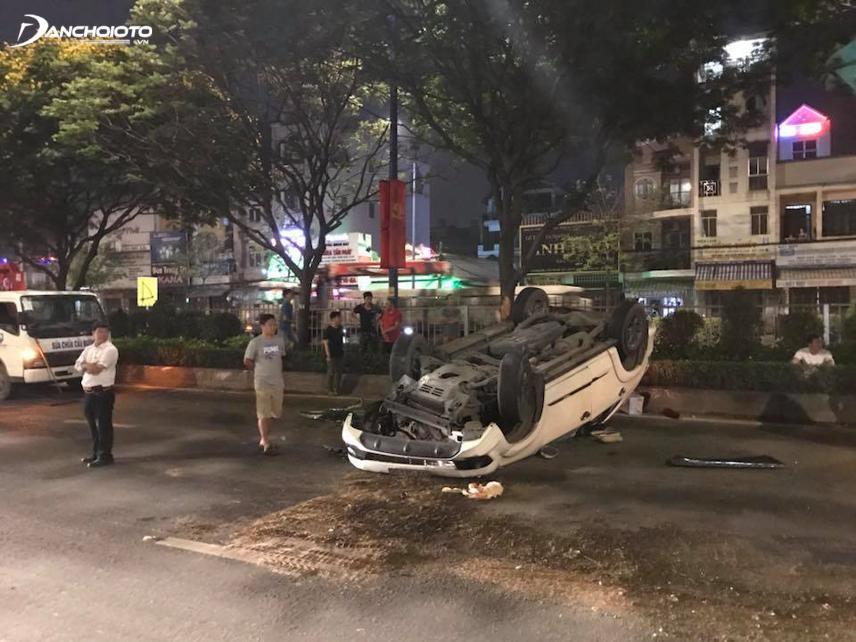 Toyota Fortuner thường bị lật trong các vụ tai nạn