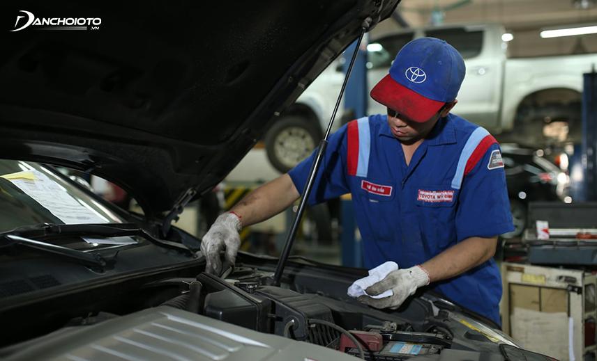 Chi phí bảo dưỡng của Toyota Vios cũng nằm trong top thấp nhất phân khúc