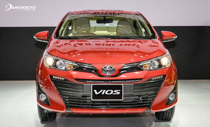 Toyota Vios tiếp nối sự thành công của Corolla và Camry