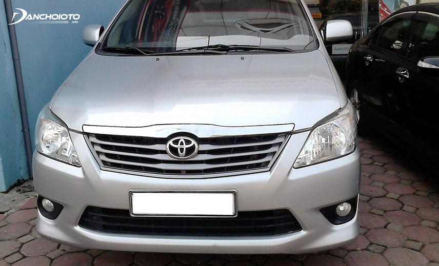 Toyota Innova là một trong những mẫu xe có khả năng giữ giá cực tốt