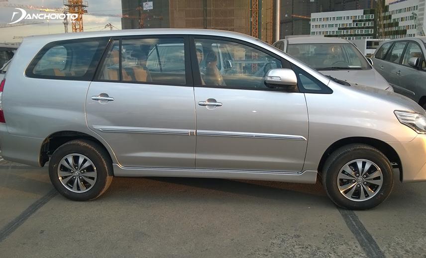 Sức mạnh động cơ Toyota Innova cũ khá hạn chế
