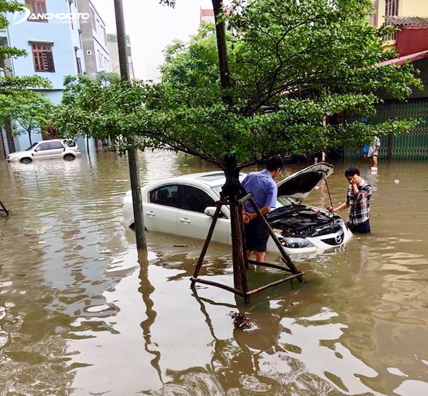 Cách xử lý tốt nhất là người lái nên gọi cứu hộ