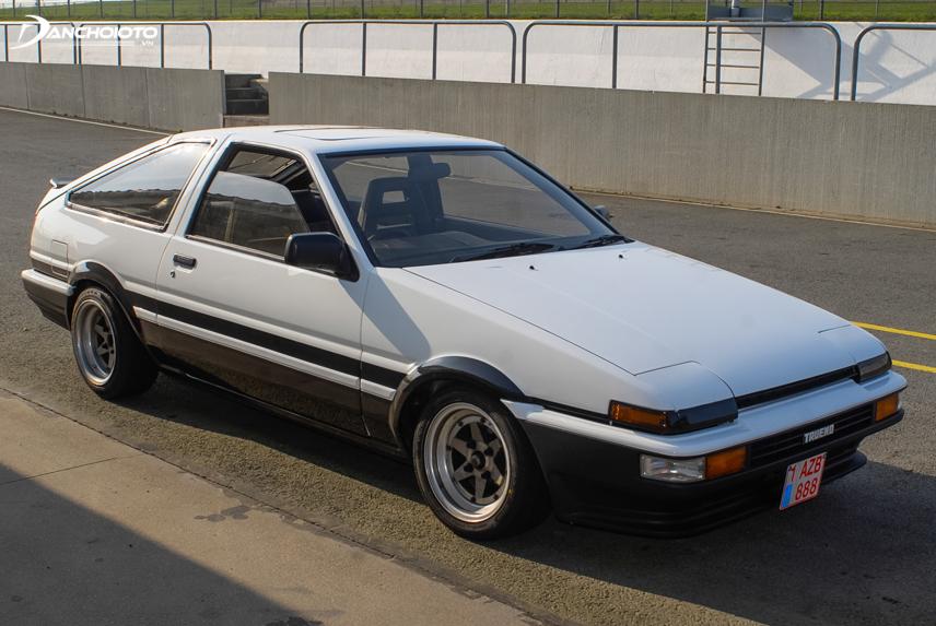 Toyota Corolla phiên bản coupe năm 1986