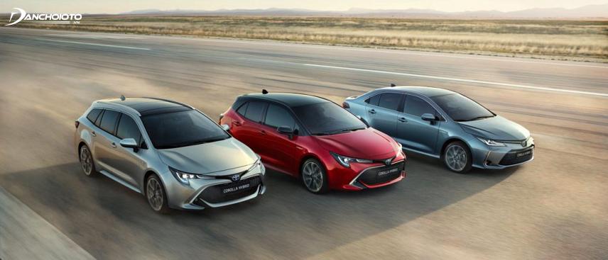 Toyota Corolla Altis 2019 - 2010 gây ấn tượng mạnh bởi kiểu dáng có nhiều bước phá cách táo bạo
