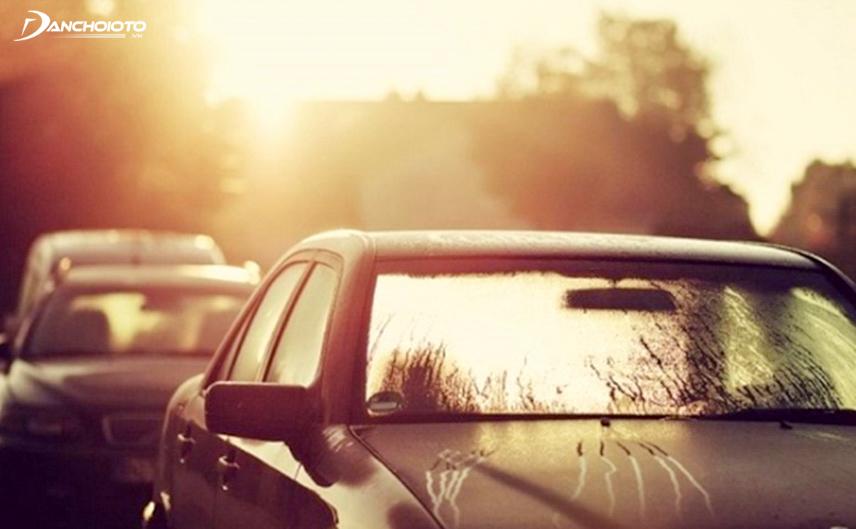 Để xe lâu không hoạt động cũng gây ảnh hưởng đến ắc quy