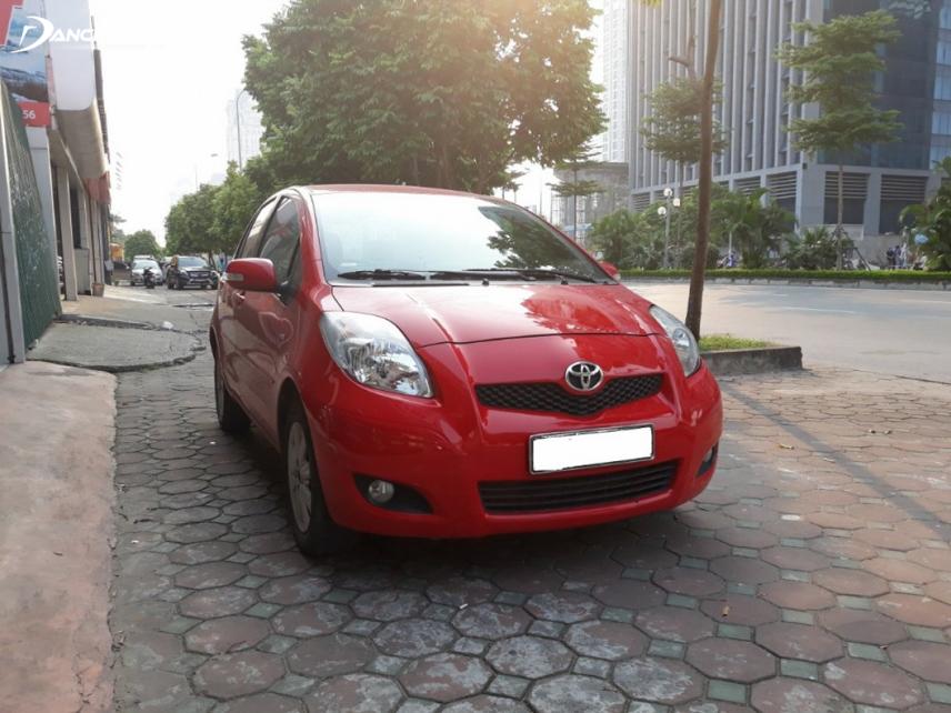 Toyota Yaris 2011 vận hành ổn định dù trang bị động cơ 1.3L