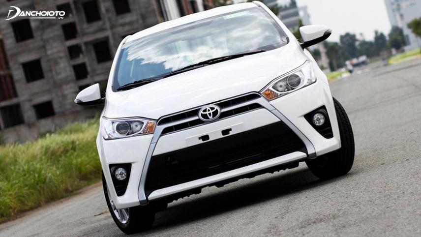 """Toyota Yaris 2014 nổi bật với lưới tản nhiệt hình """"râu cá trê"""""""