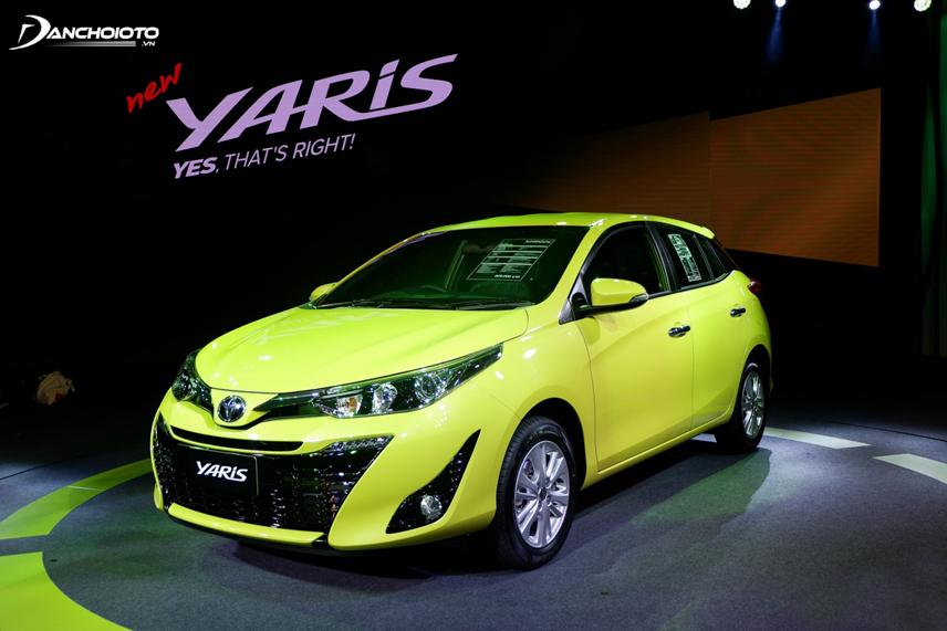 Toyota Yaris 2018 thu hút với thiết kế đổi mới mạnh mẽ