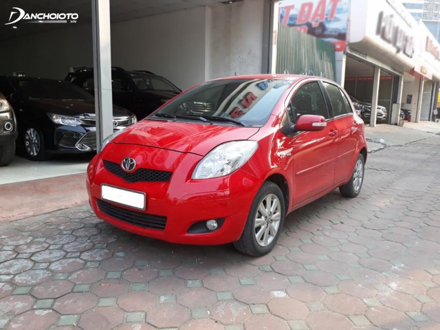Toyota Yaris đời 2011 với thiết kế tròn bầu chủ đạo