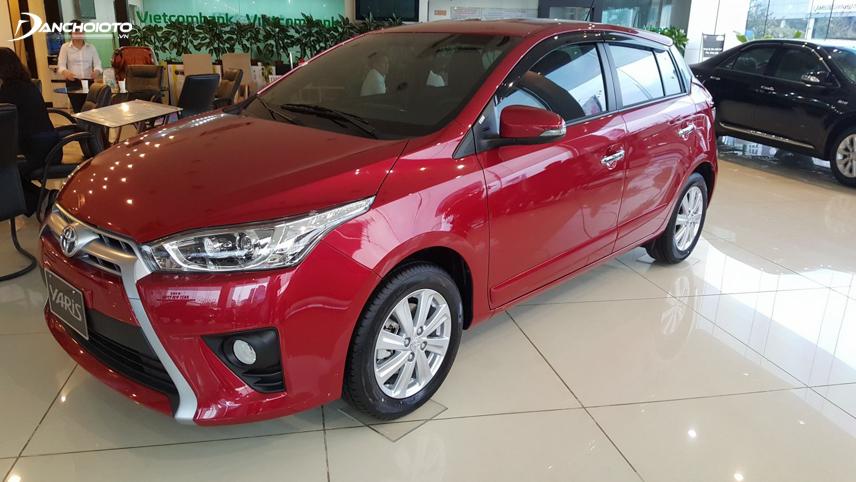 Toyota Yaris được trang bị các tính năng an toàn hiện đại