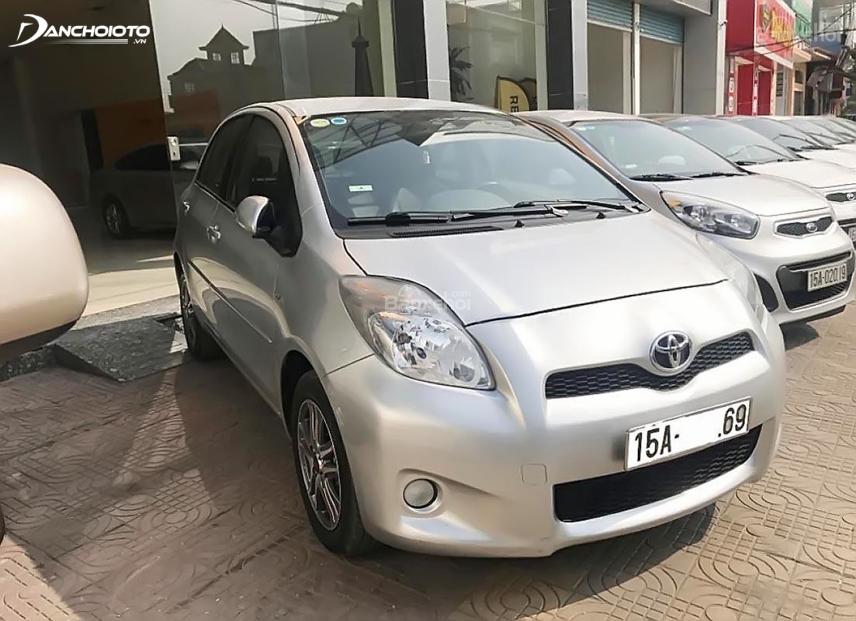 Toyota Yaris từng bị triệu hồi do lỗi túi khí