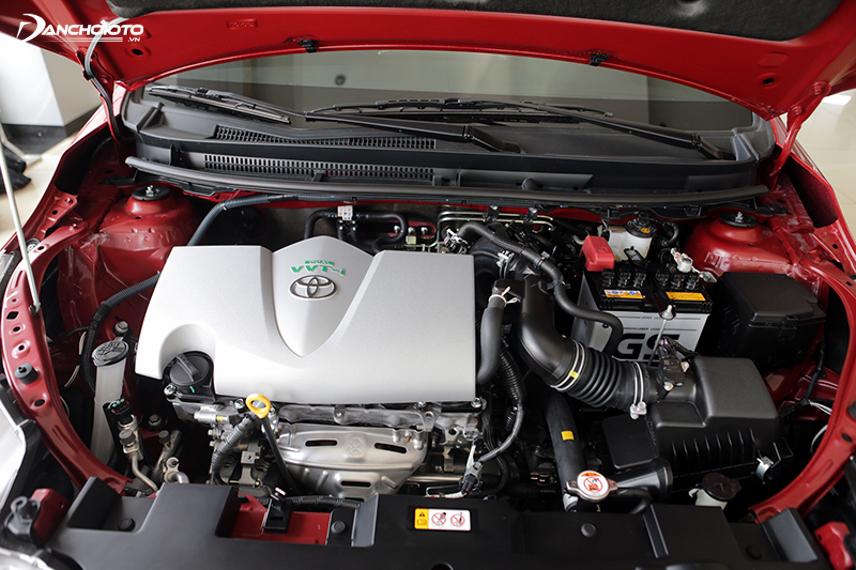 Từ đời 2016, Yaris đã nâng cấp lên động cơ 1.5L