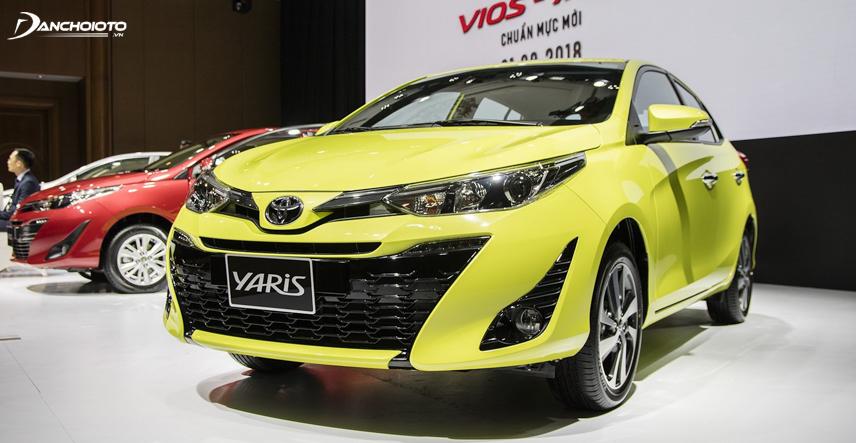 Yaris phân phối tại Việt Nam theo hình thức nhập khẩu nguyên chiếc từ Thái Lan