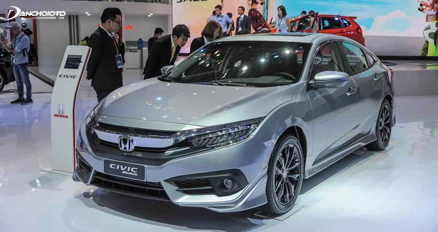 Honda Civic 2018 sở hữu thiết kế thể thao, cơ bắp và trẻ trung hơn