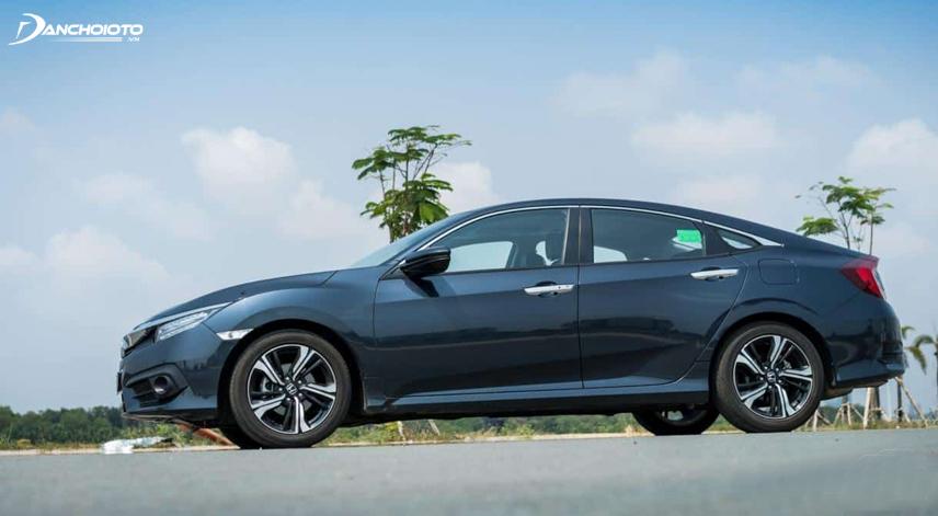Honda Civic đã hãng Honda chú trọng nhiều trong phương diện đầu tư các trang bị an toàn chủ động và bị động