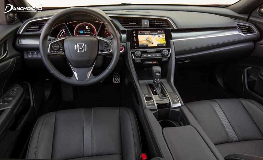 Nội thất Honda Civic 2019 hiện đại, thực dụng và sang trọng hơn