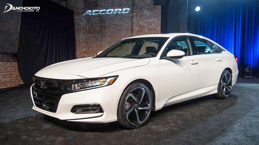 """Honda Accord thế hệ thứ 10 có sự """"lột xác"""" đầy mới mẻ"""