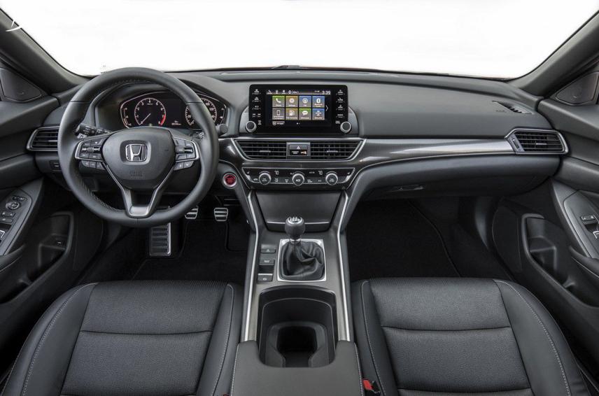 Nội thất Honda Accord thế hệ 10 được làm mới đáng kể