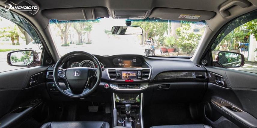 Nội thất Honda Accord 2014 - 2015 có sự thay đổi mới mẻ
