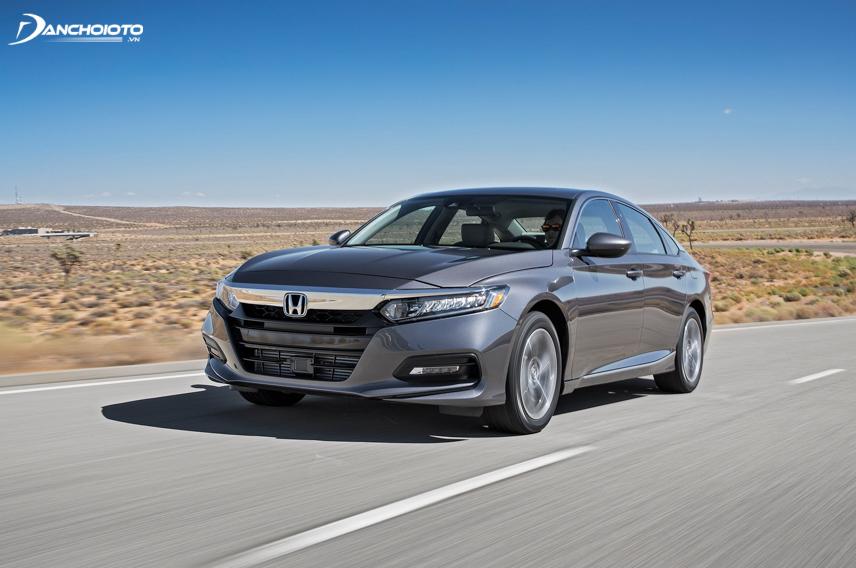 Thế mạnh của Honda Accord là thừa hưởng gần như trọn vẹn những công nghệ tiên tiến nhất của hãng Honda