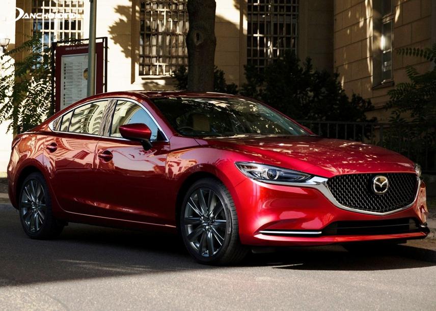 Đến Mazda 6 facelift đời 2018 - 2019, kiểu dáng có sự nâng cấp đáng kể