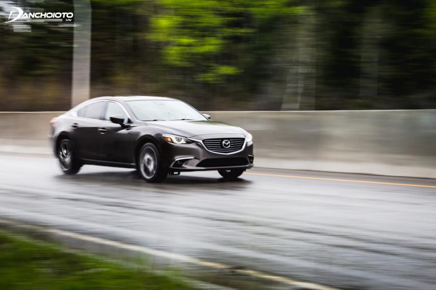 Hệ thống cách âm của Mazda 6 cũng được đánh giá tương đối tốt