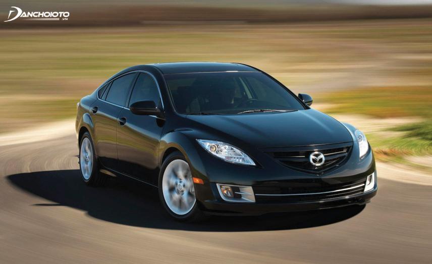 Mazda 6 2009 - 2010 mang dấu ấn đặc trưng thế hệ với cản trước hầm hố