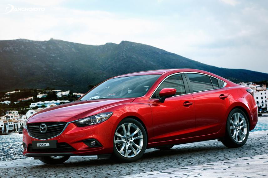 """Mazda 6 2013 """"hớp hồn"""" nhiều người bởi ngôn ngữ thiết kế KODO vô cùng đẹp mắt"""