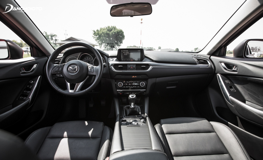 Mazda 6 facelift 2016 - 2017, nội thất xe có sự thay đổi đáng kể