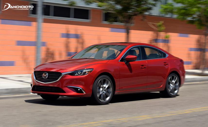 """Mazda 6 phiên bản 2.0L không có dấu hiệu """"hụt hơi"""" khi tăng tốc đột ngột"""