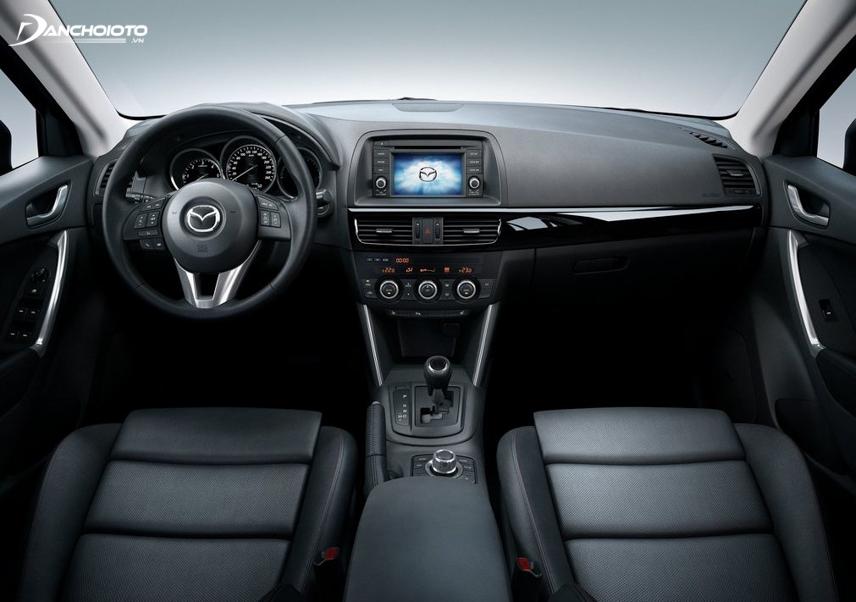 Nội thất xe Mazda 6 2013 - 2014 - 2015 đề cao tính thực dụng song vẫn mang nét sang trọng của một chiếc sedan hạng D