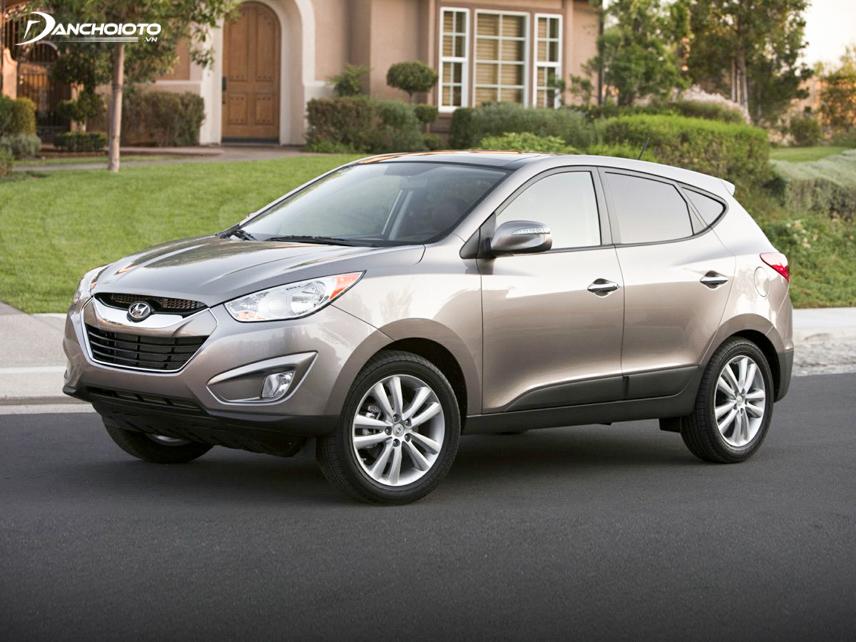 Hyundai Tucson 2012 – 2013 có khả năng vận hành êm ái, linh hoạt