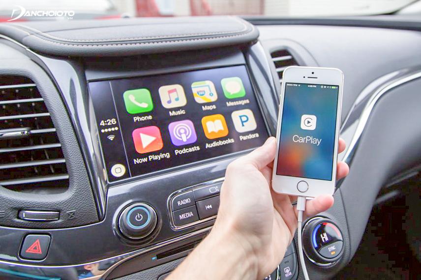 Công nghệ Apple Carplay trên xe ô tô