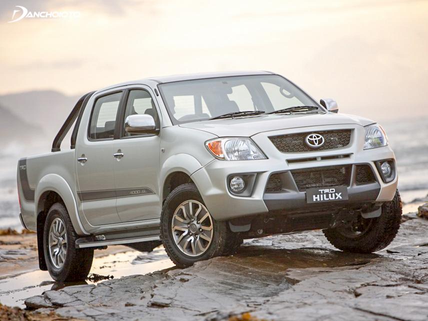 Toyota Hilux có khả năng thích nghi tốt với nhiều địa hình