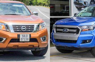 Nissan Navara EL và Ford Ranger XLS: Cùng tầm giá liệu có cùng sức mạnh?