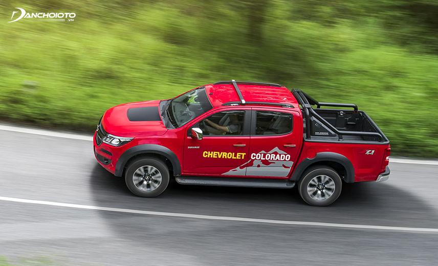 Chevrolet Coloradođược nhà sản xuất trang bị rất nhiều thiết bị đảm bảo an toàn