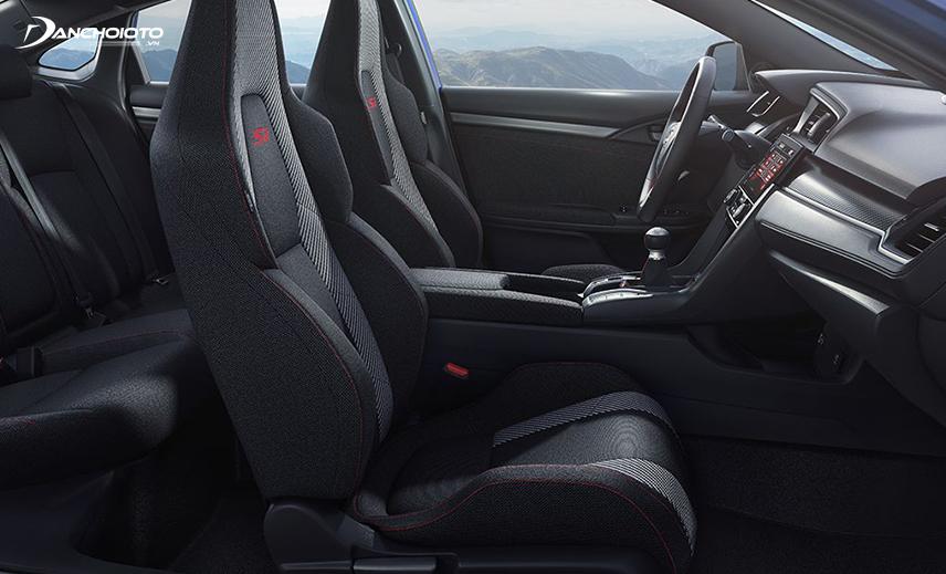 Không gian nội thất xe Honda Civic Si