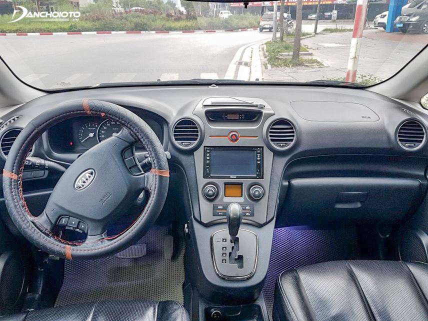 Carens 2012 là chiếc xe đa dụng cũ giá rẻ thích hợp sử dụng cho gia đình hoặc phục vụ kinh doanh trong đô thị