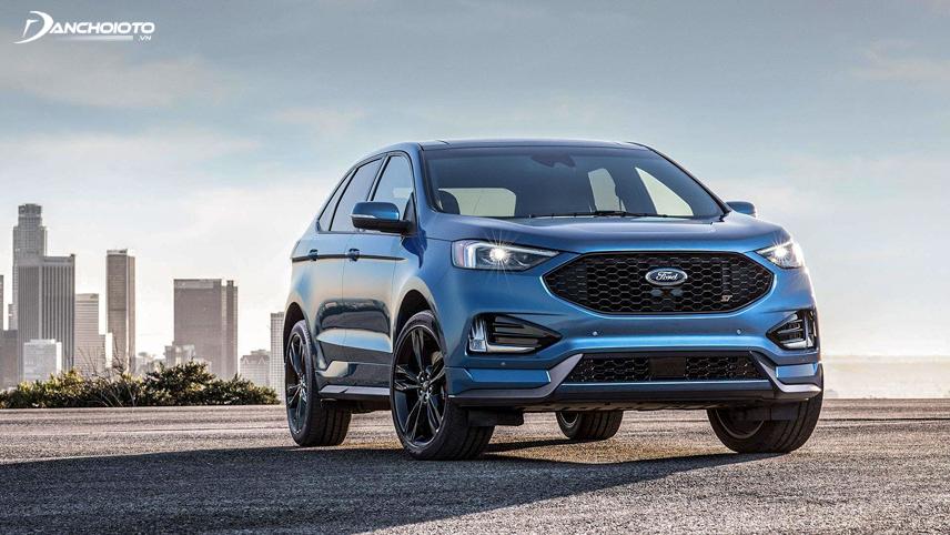 Hệ dẫn động 4 bánh mới của Ford Edge gia tăng sự an toàn khi xe di chuyển trên đường trơn