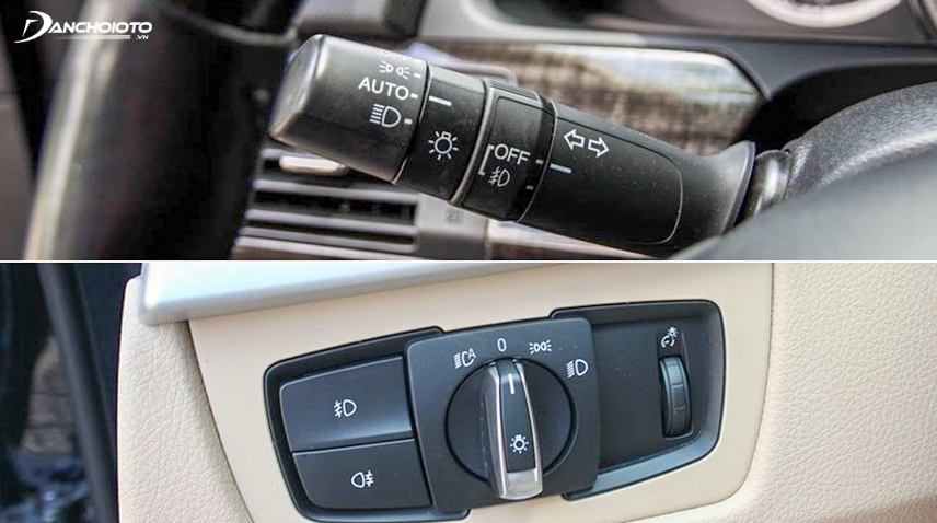 Công tắc đèn pha tự động ô tô
