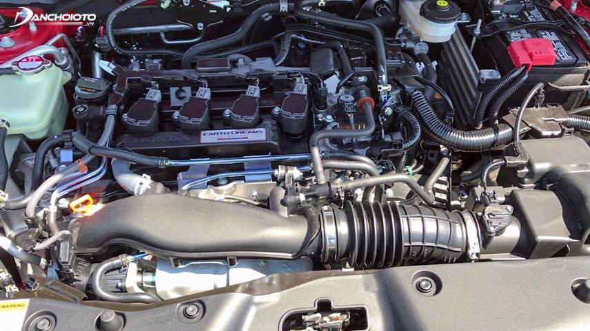 Động cơ Turbo tăng áp của Honda Civic